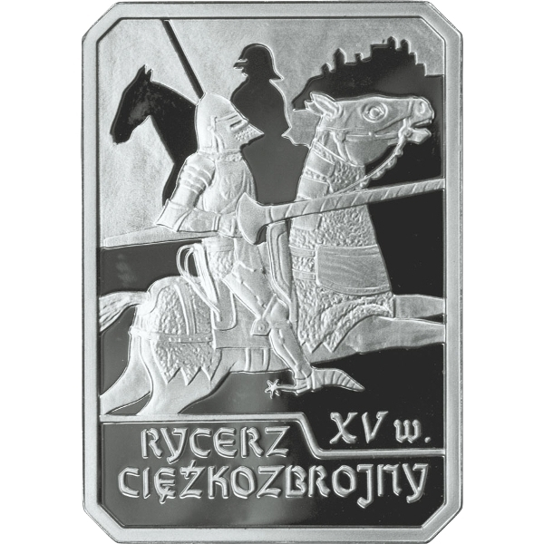 10 Złotych 2007, Poland, History of Polish Cavalry, Heavy Cavalry