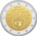 2 Euro 2020, Portugal, 75th Anniversary of the United Nations