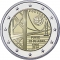 2 Euro 2016, KM# 866, Portugal, 50th Anniversary of the 25th of April Bridge