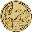20 Euro Cent 2008-2016, KM# 764, Portugal