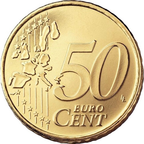 50 Euro Cent 2002-2007, KM# 745, Portugal
