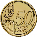 50 Euro Cent 2008-2019, KM# 765, Portugal