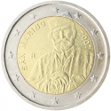 2 Euro 2007, KM# 481, San Marino, 200th Anniversary of Birth of Giuseppe Garibaldi