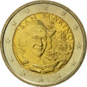 2 Euro 2006, KM# 478, San Marino, 500th Anniversary of Death of Christopher Columbus