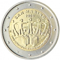 2 Euro 2008, KM# 487, San Marino, European Year of Intercultural Dialogue