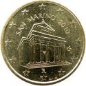10 Euro Cent 2008-2016, KM# 482, San Marino