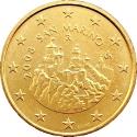 50 Euro Cent 2008-2016, KM# 484, San Marino