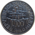 100 Lire 1978, KM# 82, San Marino, Food and Agriculture Organization (FAO), The Work