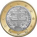 1 Euro 2009-2016, KM# 101, Slovakia