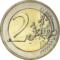 2 Euro 2009, KM# 103, Slovakia, 10th Anniversary of the European Monetary Union and the Introduction of the Euro