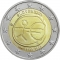 2 Euro 2009, KM# 103, Slovakia, 10th Anniversary of the European Monetary Union