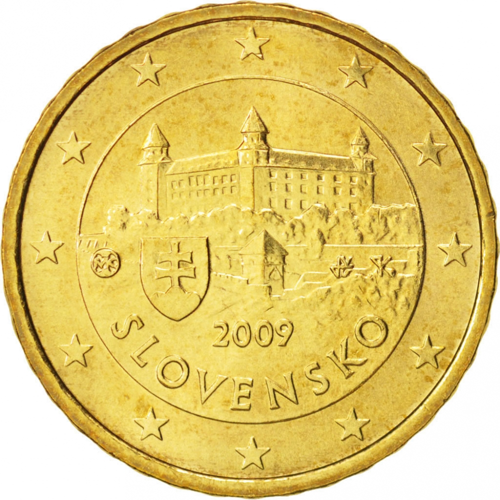 10 euro cent slovakia 2009 2019 km 98 coinbrothers catalog. Black Bedroom Furniture Sets. Home Design Ideas