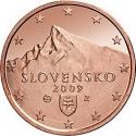 5 Euro Cent 2009-2016, KM# 97, Slovakia
