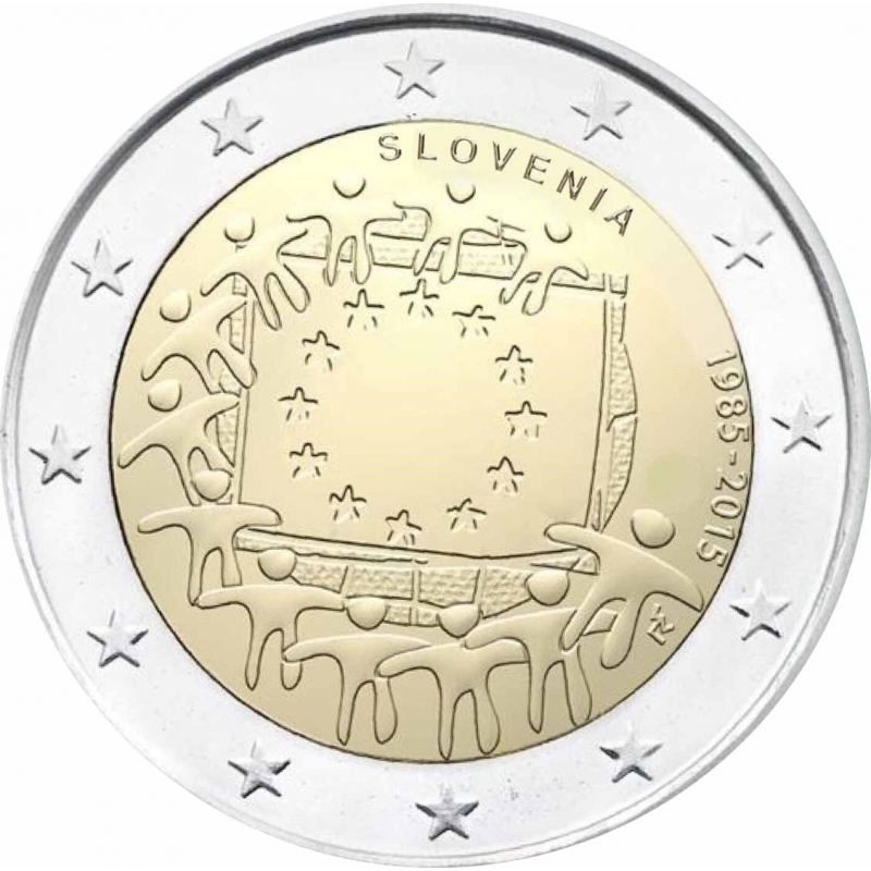 2 euro slovenia 2015 coinbrothers catalog. Black Bedroom Furniture Sets. Home Design Ideas