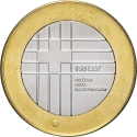 3 Euro 2016, Schön# 126, Slovenia, 150th Anniversary of the Slovenian Red Cross