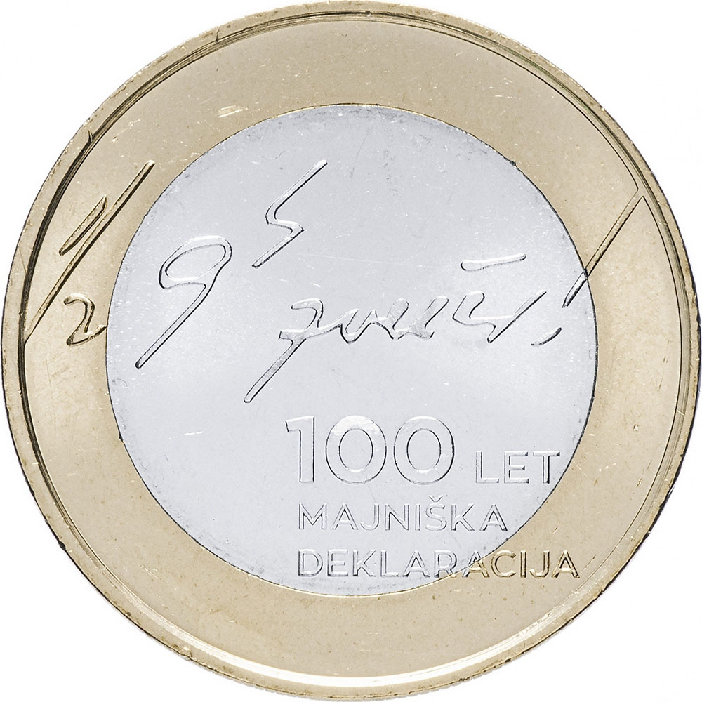 3 Euro 2017, Slovenia, 100th Anniversary of the May Declaration