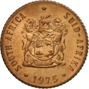 1/2 Cent 1970-1983, KM# 81, South Africa