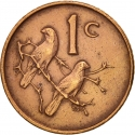 1 Cent 1965-1969, KM# 65.2, South Africa