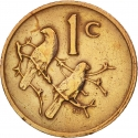1 Cent 1979, KM# 98, South Africa, The End of Nico Diederichs' Presidency