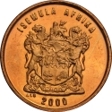 1 Cent 1997-2000, KM# 170, South Africa
