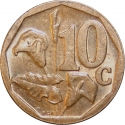 10 Cents 2004, KM# 326, South Africa