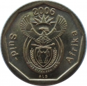 10 Cents 2006, KM# 487, South Africa