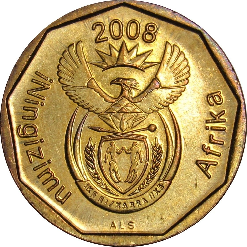 10 Cents South Africa 2008 Km 441 Coinbrothers Catalog