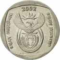 2 Rand 2002, KM# 273, South Africa