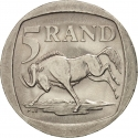 5 Rand 1994-1995, KM# 140, South Africa