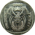 5 Rand 2000-2001, KM# 229, South Africa