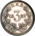 3 Pence 1892-1897, KM# 3, South African Republic (Transvaal)