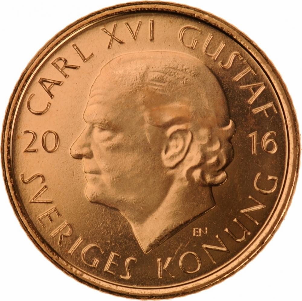 1 Krona Sweden 2016 | CoinBrothers Catalog
