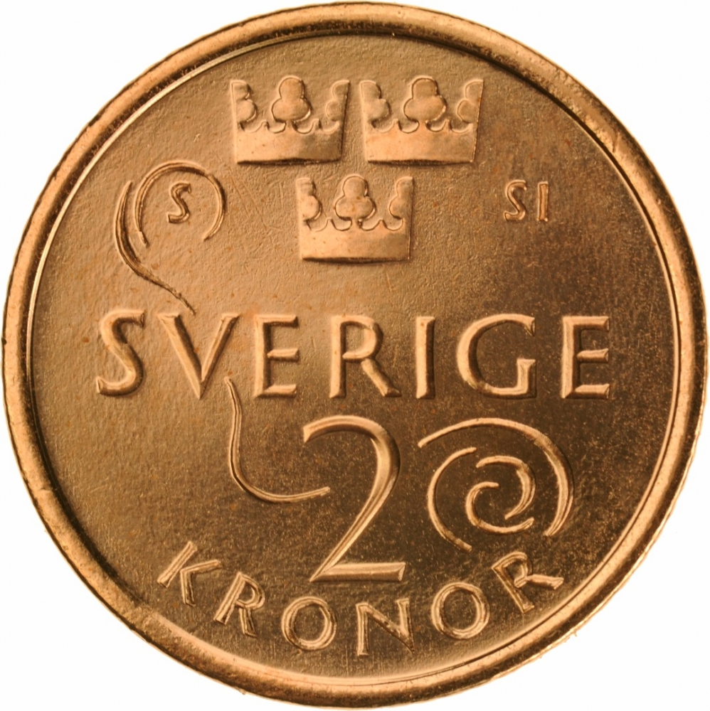 2 Kronor Sweden 2016 | CoinBrothers Catalog
