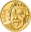 1/4 Franc 2020, Switzerland, Albert Einstein