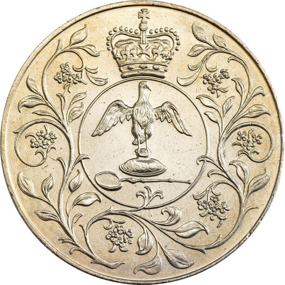 1977 25p coin value