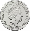 10 Pence 2018-2019, United Kingdom (Great Britain), Elizabeth II, Quintessentially British A to Z, B - Bond…James Bond