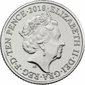 10 Pence 2018-2019, United Kingdom (Great Britain), Elizabeth II, Quintessentially British A to Z, E - English Breakfast