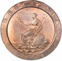 2 Pence 1797, KM# 619, United Kingdom (Great Britain), George III