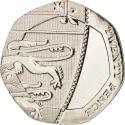 20 Pence 2008-2015, KM# 1111, United Kingdom (Great Britain), Elizabeth II