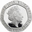 20 Pence 2015-2017, Sp# G5, United Kingdom (Great Britain), Elizabeth II