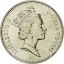 5 Pence 1985-1990, KM# 937, United Kingdom (Great Britain), Elizabeth II