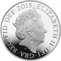 5 Pence 2015-2017, Sp# D8, United Kingdom (Great Britain), Elizabeth II