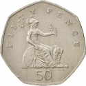 50 Pence 1997, KM# 940.2, United Kingdom (Great Britain), Elizabeth II