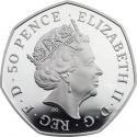 50 Pence 2016, United Kingdom (Great Britain), Elizabeth II, 950th Anniversary of the Battle of Hastings