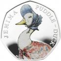 50 Pence 2016, United Kingdom (Great Britain), Elizabeth II, 150th Anniversary of the Birth of Beatrix Potter, Jemima Puddle-Duck