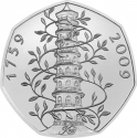 50 Pence 2019, United Kingdom (Great Britain), Elizabeth II, Celebrating 50 Years of the 50p, British Culture, Kew Gardens