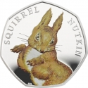 50 Pence 2016, United Kingdom (Great Britain), Elizabeth II, 150th Anniversary of the Birth of Beatrix Potter, Squirrel Nutkin