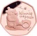 50 Pence 2020, United Kingdom (Great Britain), Elizabeth II, Winnie the Pooh and Friends, Winnie the Pooh