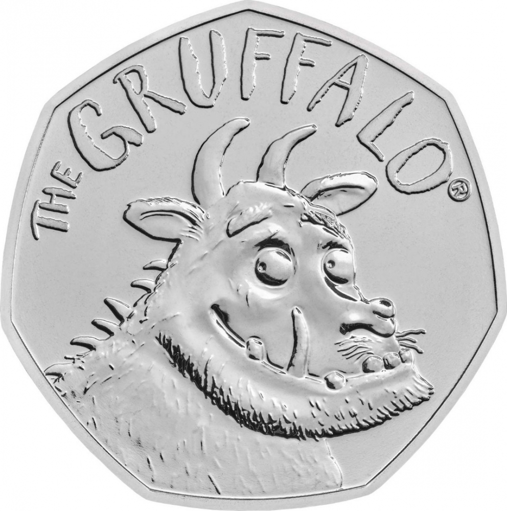 50 Pence 2019, United Kingdom (Great Britain), Elizabeth II, 20th Anniversary of The Gruffalo