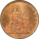 1 Penny 1874-1894, KM# 755, United Kingdom (Great Britain), Victoria